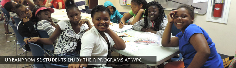 UrbanPromise Students Enjoy Their Programs at WPC