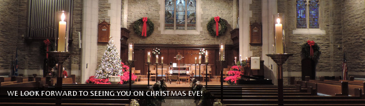 We look forward to seeing you on Christmas Eve!