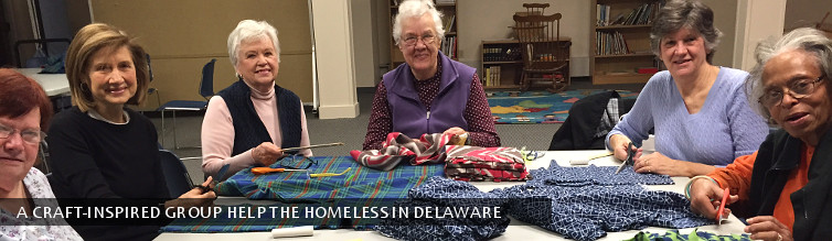 A craft-inspired group help the homeless in Delaware