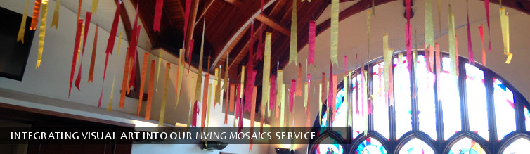 Integrating visual art into our Living Mosaics service