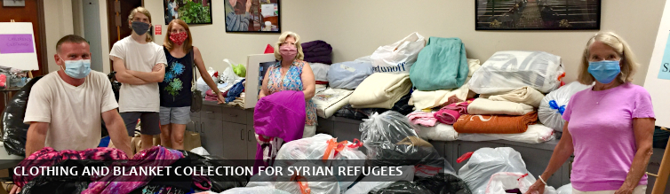 Clothing and Blanket Collection for Syrian Refugees